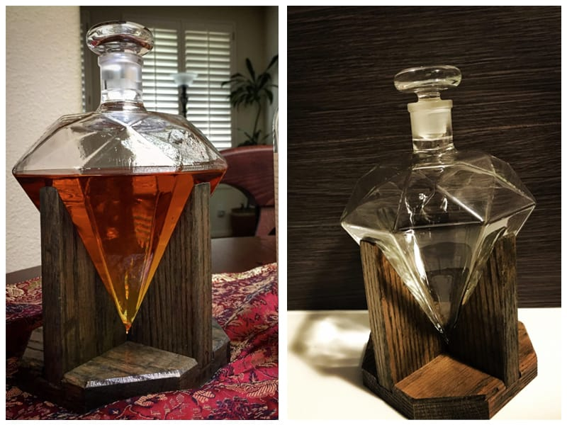 Diamond Whiskey Container Customer Review