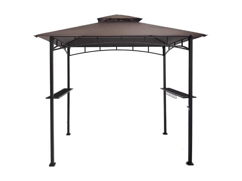 DikaSun Double Tiered Gazebo with Air Vent
