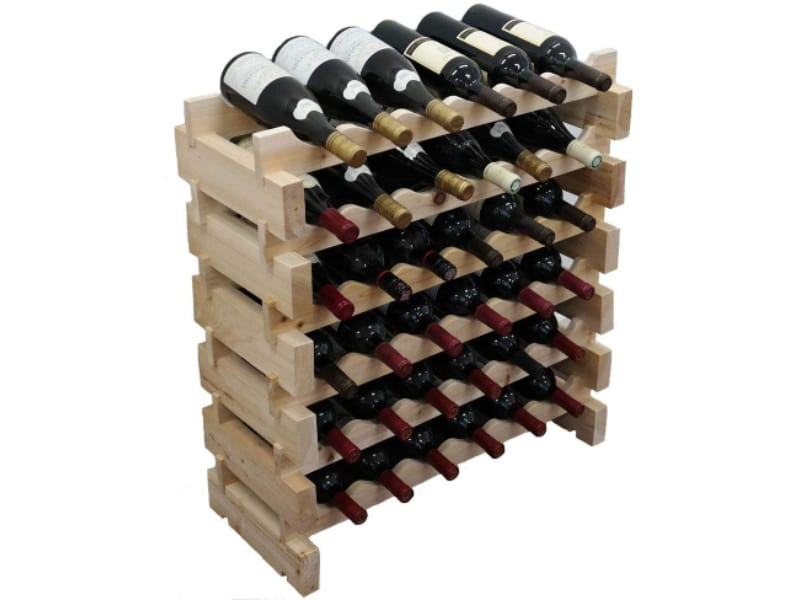 Display Gifts Wooden Wine Rack