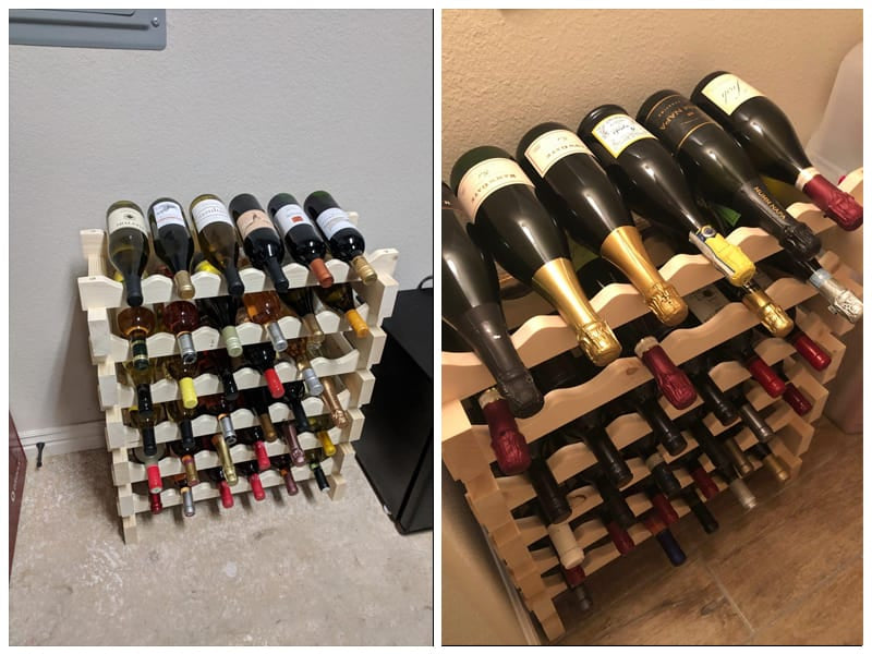 Display Gifts Wooden Wine Rack review