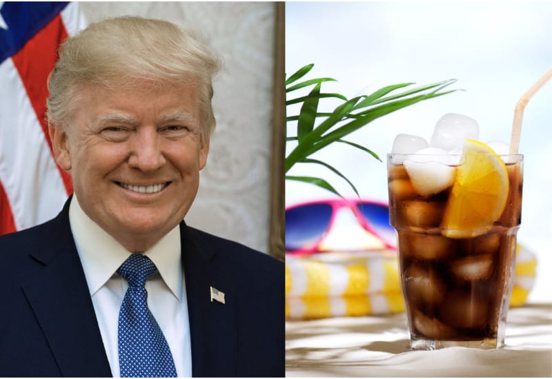 Donald Trump and Diet Cola