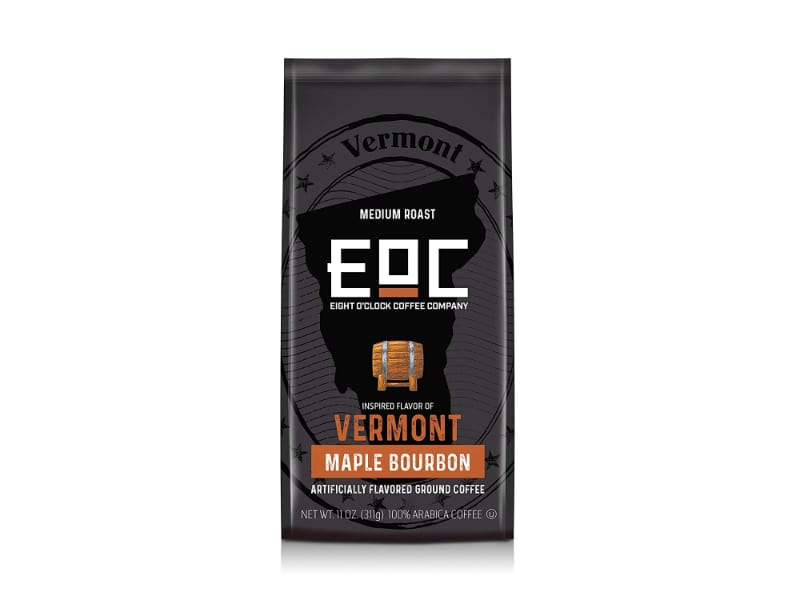 Eight O'Clock Vermont Maple Bourbon Infused Coffee