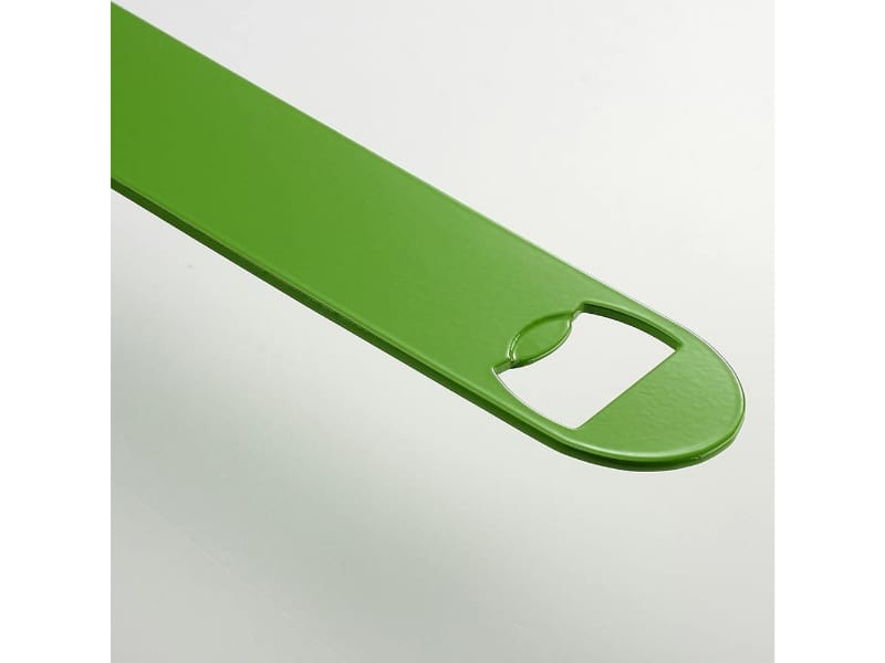 End of the speed opener with green color