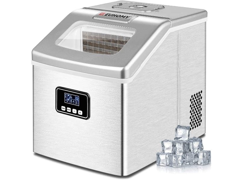 Euhomy 40Lbs or 24H Portable Ice Cube Maker