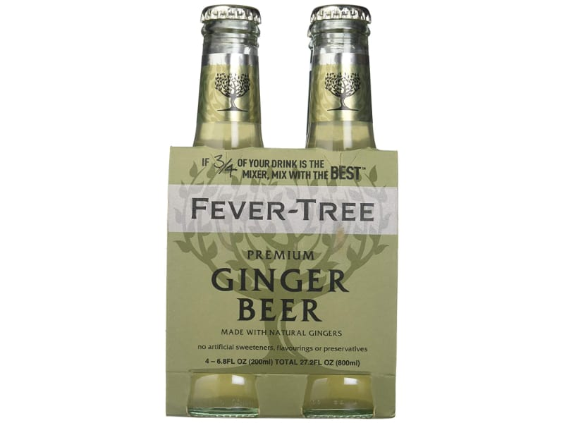 Two bottles of Fever Tree