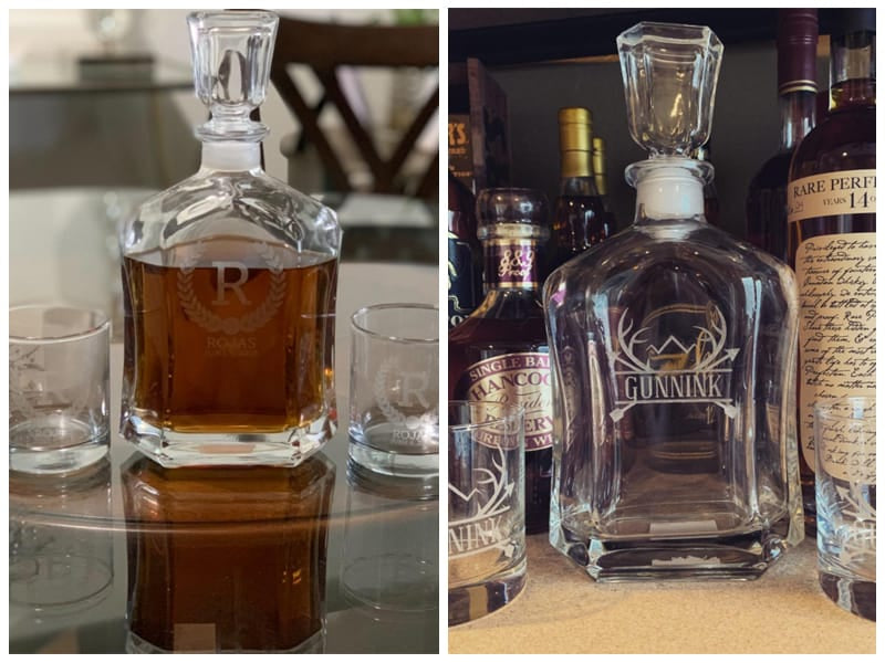 Froolu Personalized Whiskey Decanter Set review