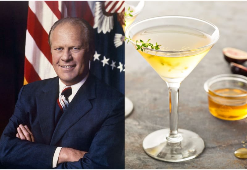 Gerald Ford and Martini