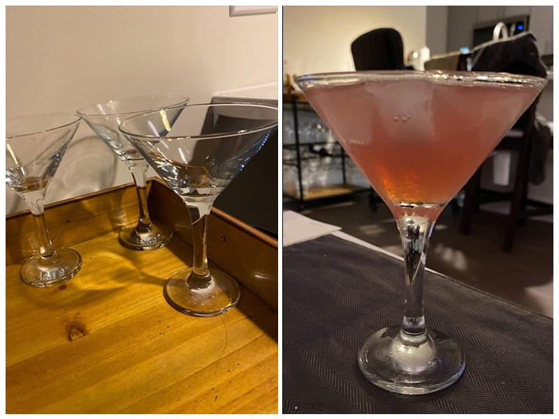 Glacier Milano Collection Martini Glass review