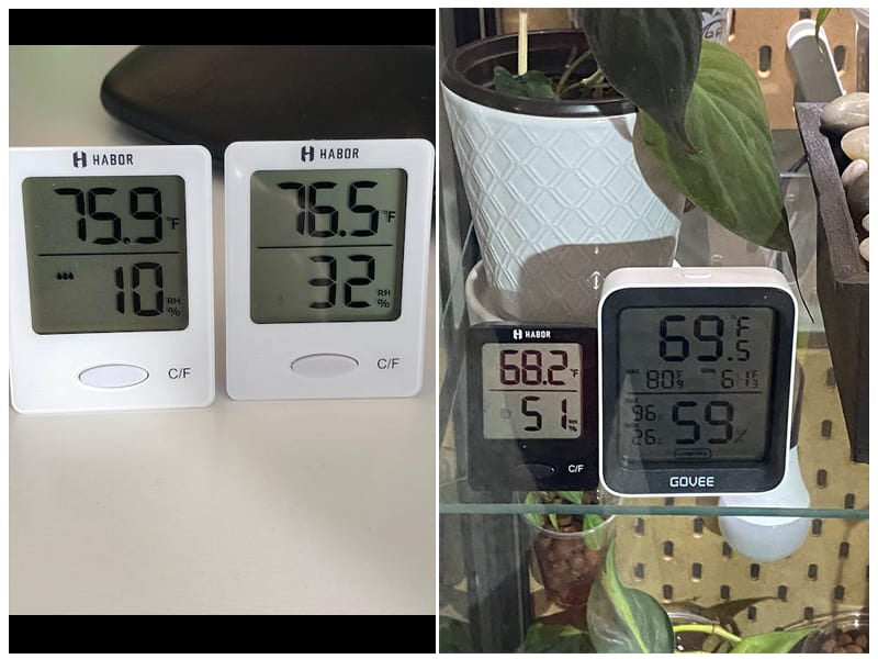 Habor Hygrometer Thermometer review