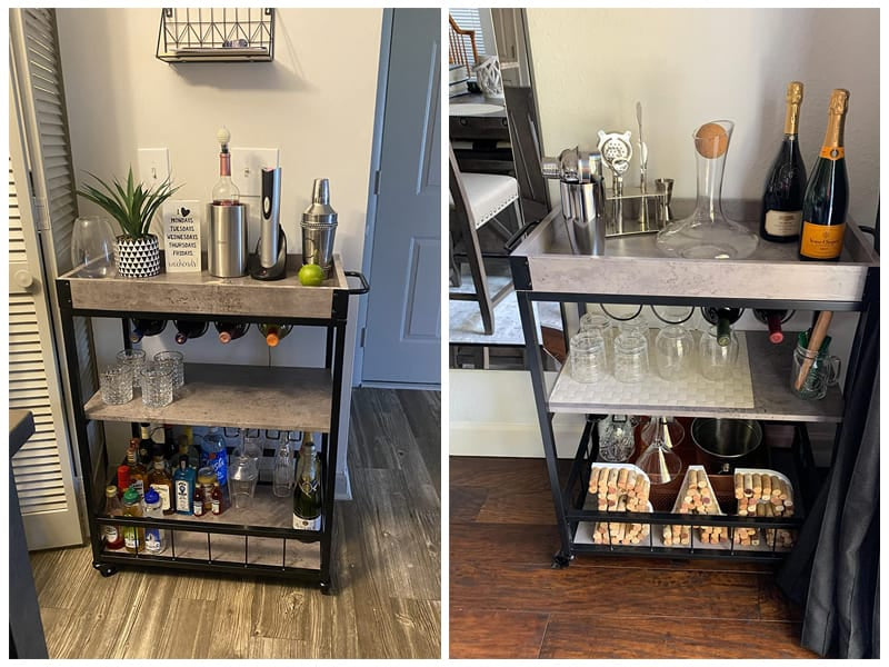 Haotian FKW56-HG Wine Serving Cart review