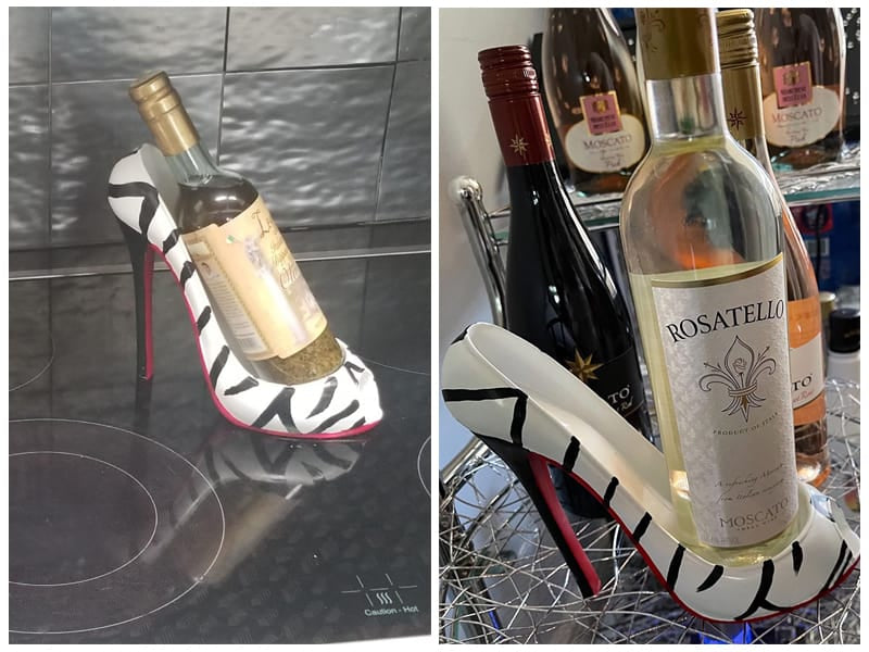 Hilarious Home High Heel Single Wine Bottle Holder  review