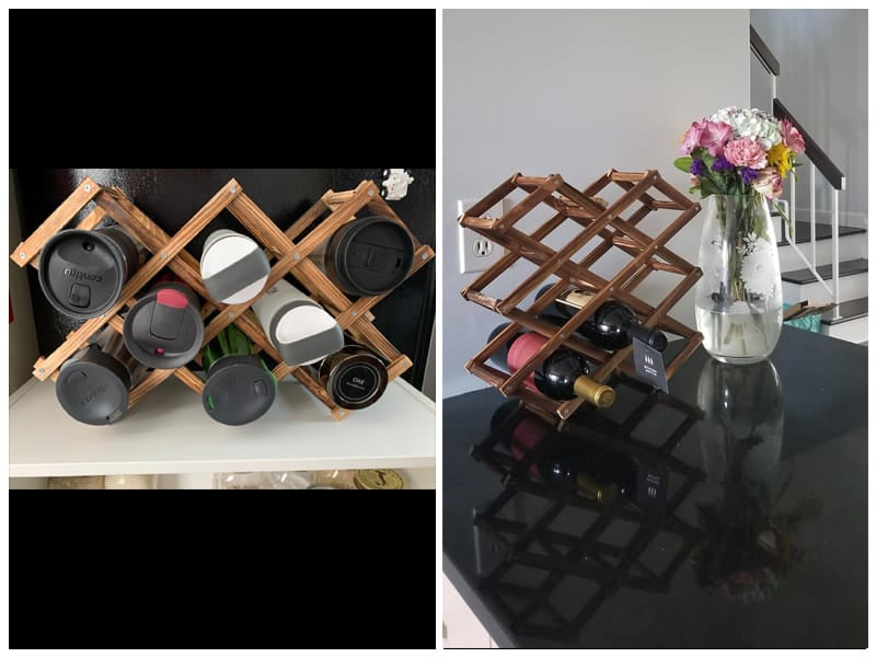 Hivory Wooden Wine Rack review