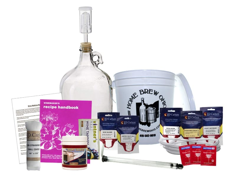 Home Brew Ohio Upgraded 1 gal Wine from Fruit Kit