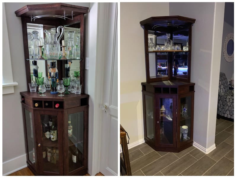 Home Source Corner Bar Unit review