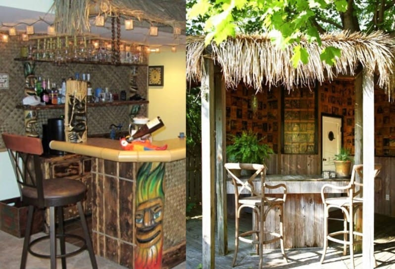 Classic Tiki Bar - Image by Beachfrontdecor.com