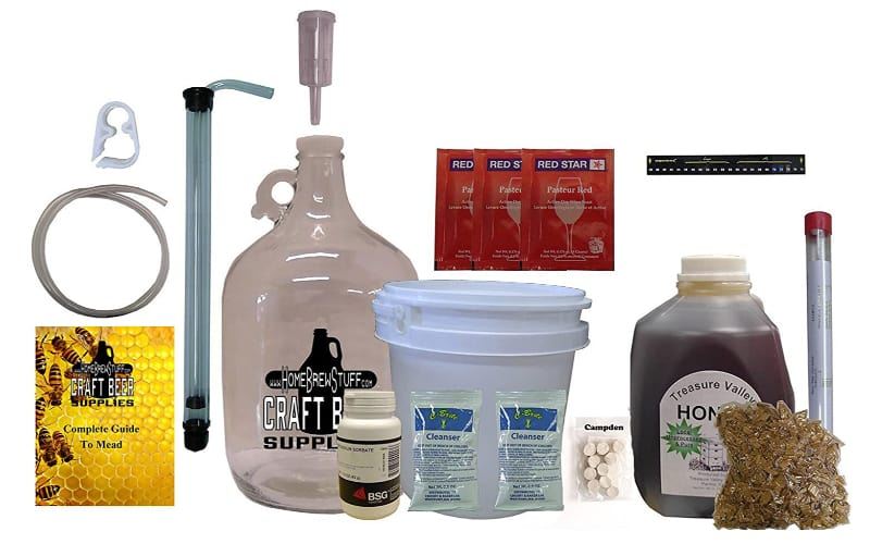 HomeBrewStuff One Gallon Nano-Meadery Deluxe Mead Kit