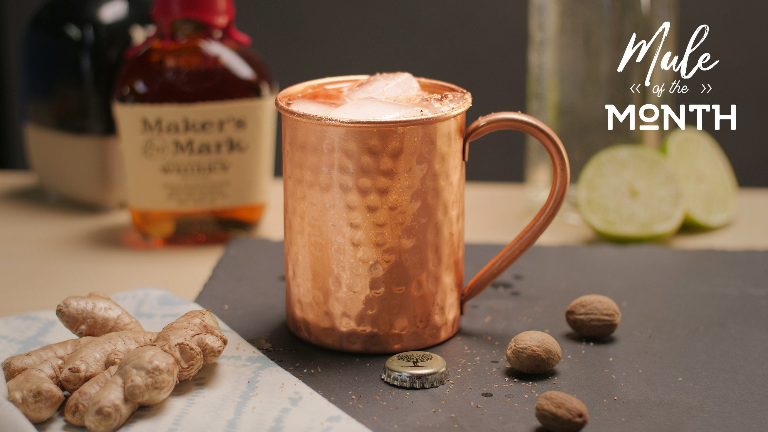 Whiskey Ginger Mule