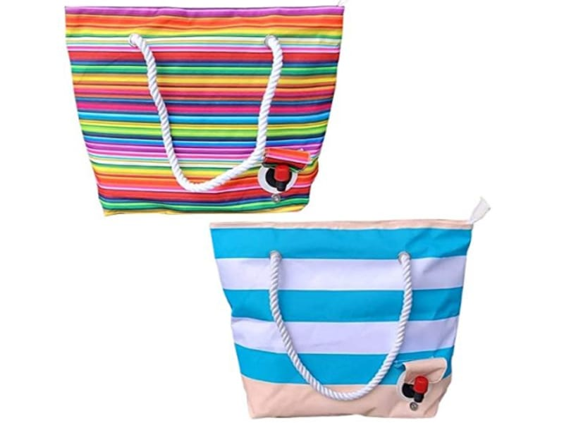 Insulated Wine Purse Portable Tote with Spout