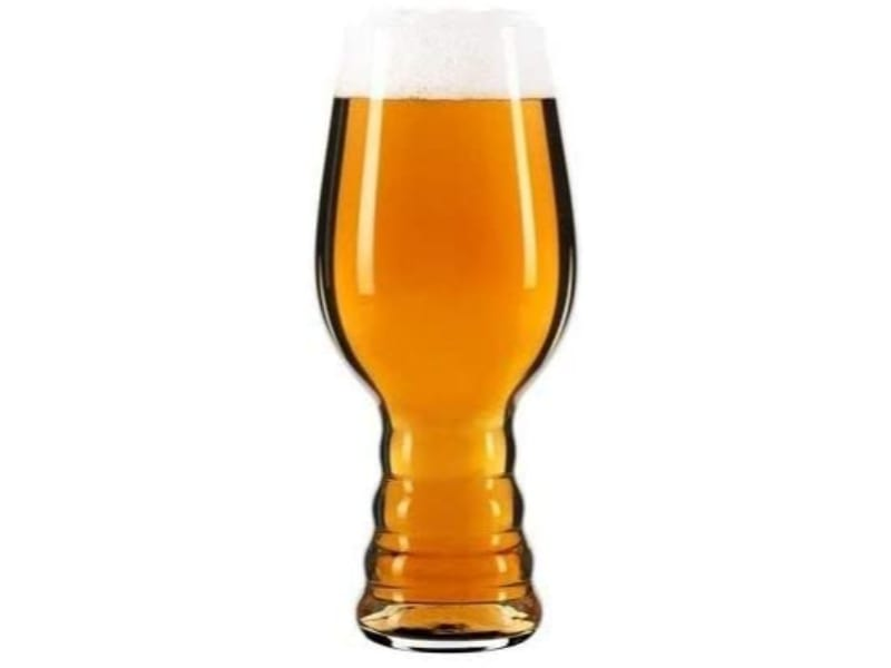 IPA glass with beer