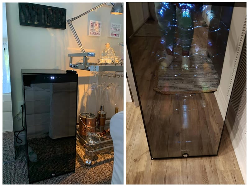 Ivation Under Counter Wine Cooler  review