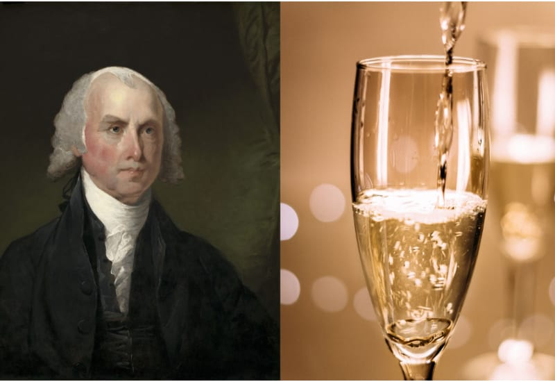 James Madison and Champagne