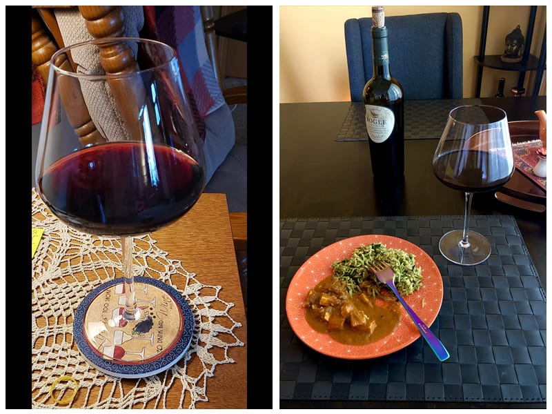 JBHome Burgundy Wine Glass review