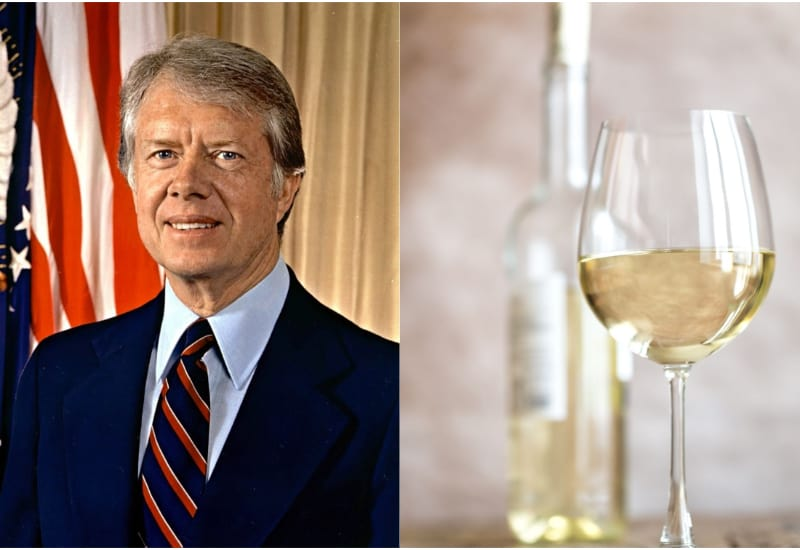 Jimmy Carter and White Wine