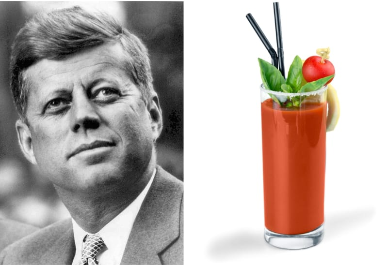 John Kennedy and Bloody Mary