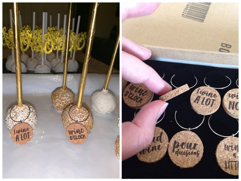 Juvale Ring Cork Wine Charms (Set of 12)review