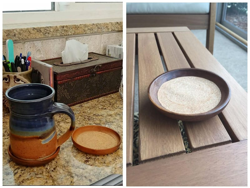 Kamenstein Natural Drink Coaster - Easiest to Maintain review