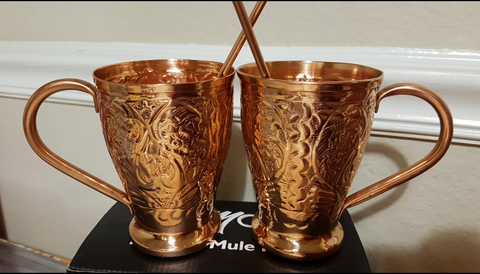 Kamojo Copper Mule Mugs