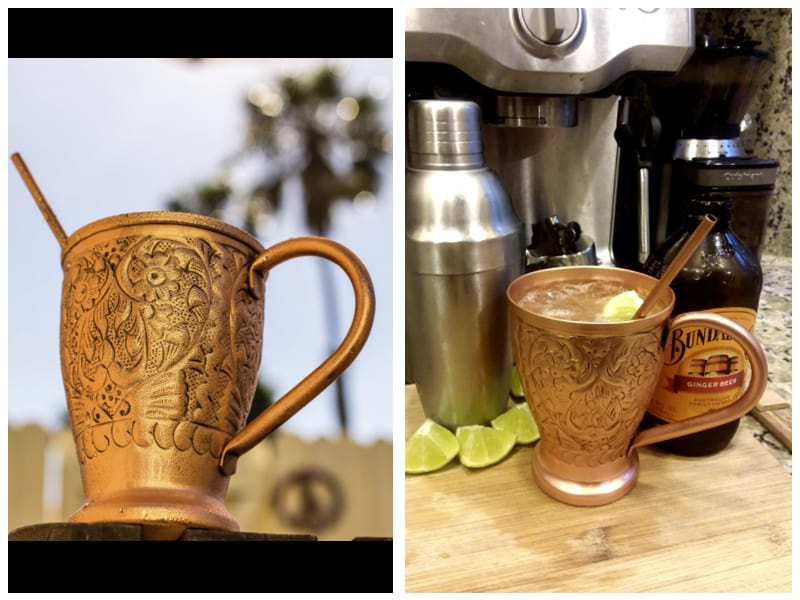 Kamojo Embossed Moscow Mule Copper Mugs Cutomer Review