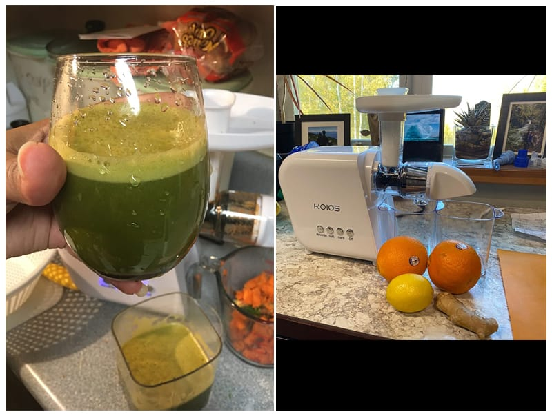 KOIOS Cold Press Juicer review