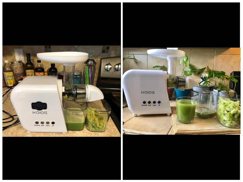 KOIOS Masticating Juicer Slow Extractor review
