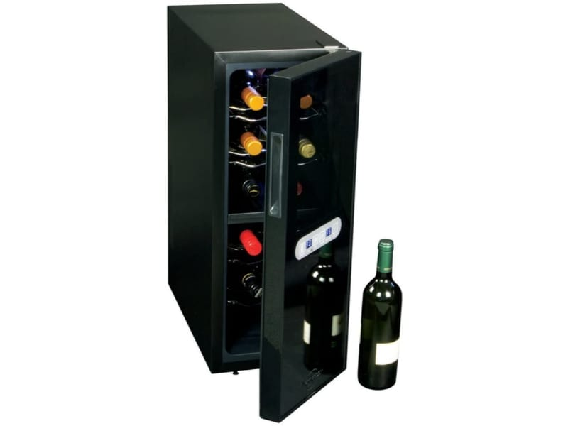 Koolatron WC12DZ Thermoelectric Cooler with wine bottles