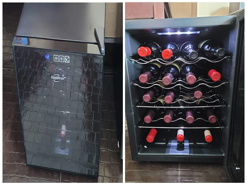 Koolatron WC20 Thermoelectric Wine Cooler review