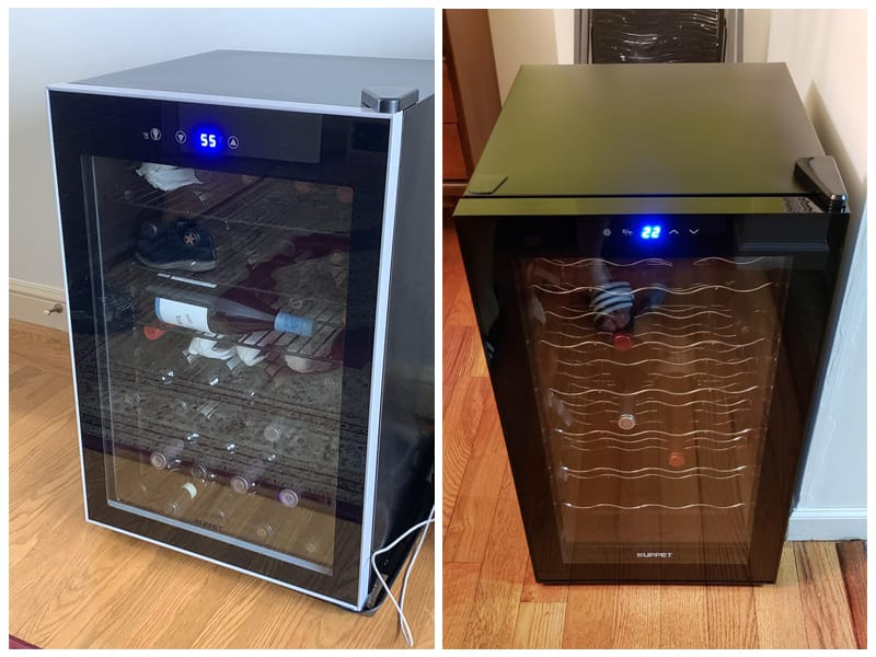 KUPPET Under Counter Wine Cooler review