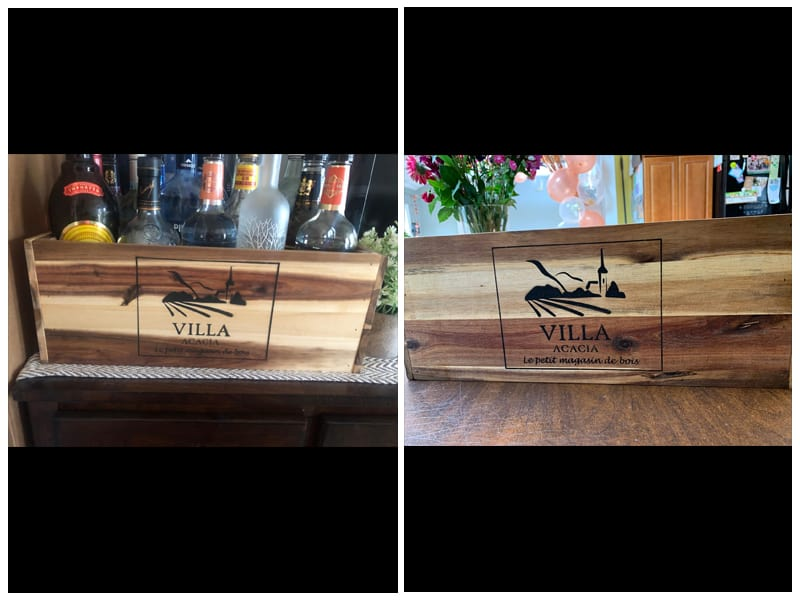 Large Wooden Wine Crate review