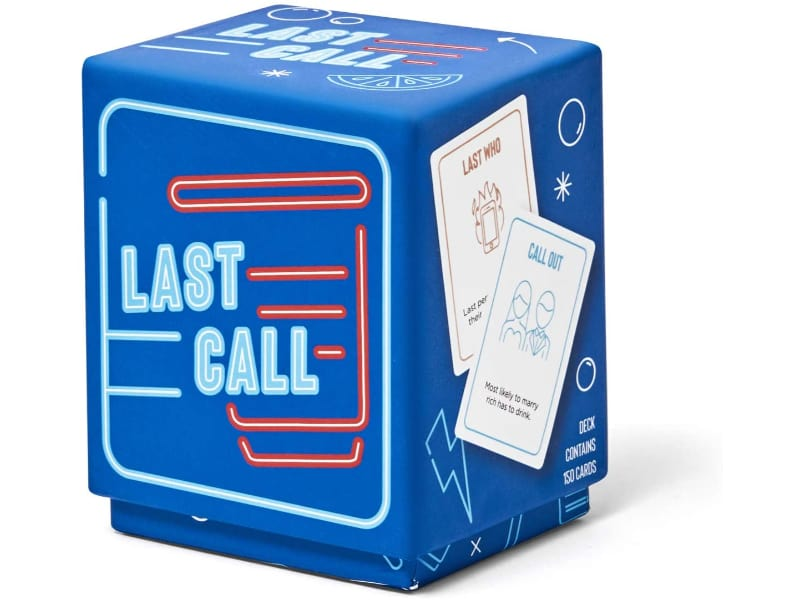 Last Call drinking card game