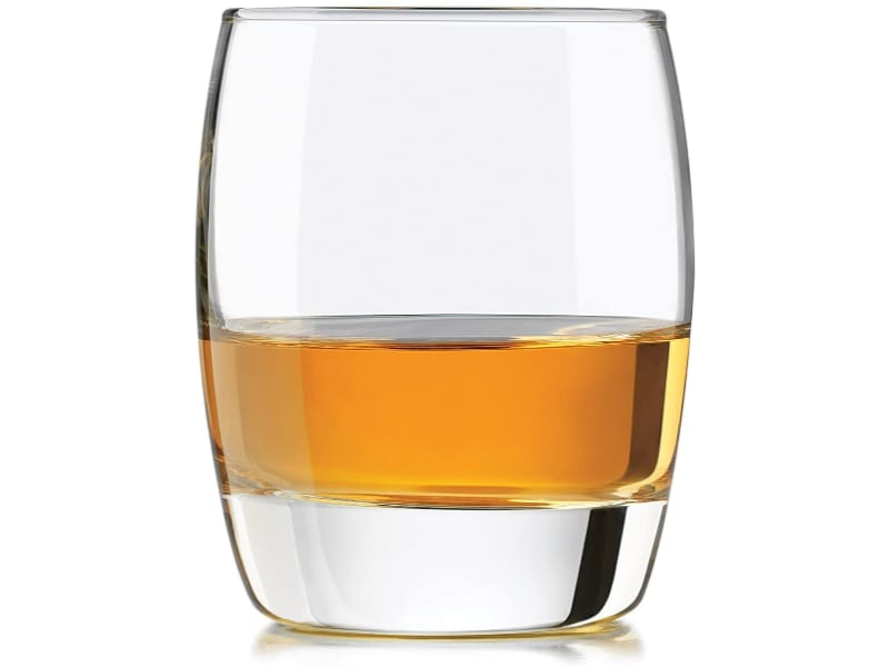 Libbey Craft Spirits Tequila Glass with liquor