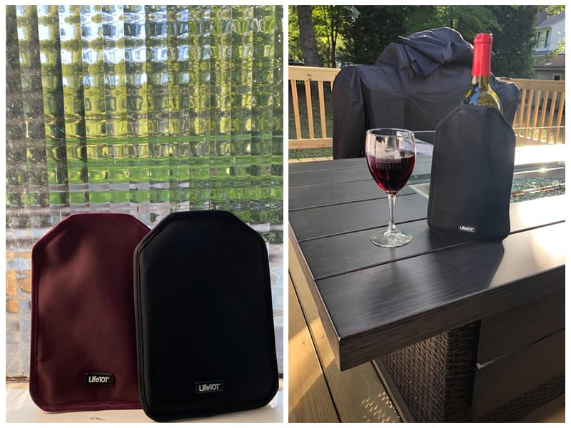 Life101 Wine Cooler Sleeves, 2-Pack review