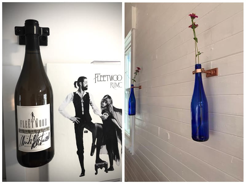Lily's Wall Mount Single Wine Bottle Holder review