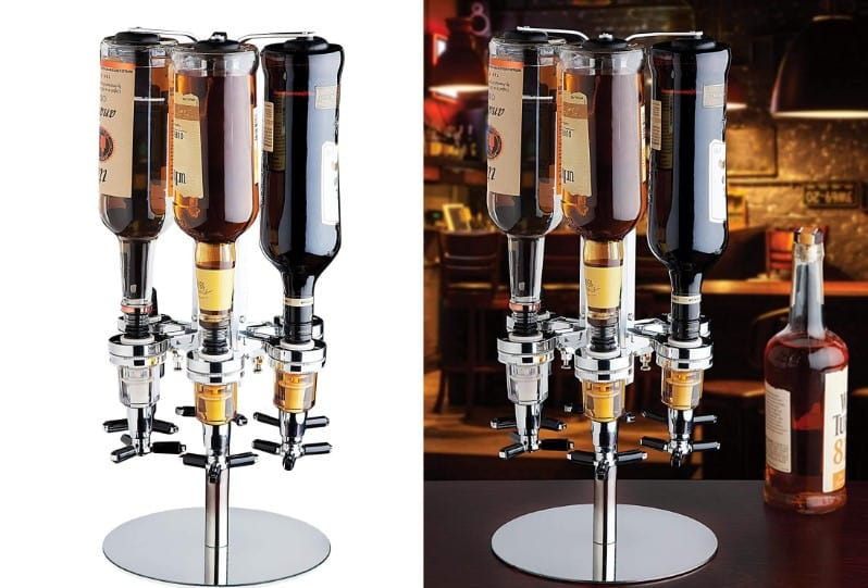 Revolving Liquor Dispenser