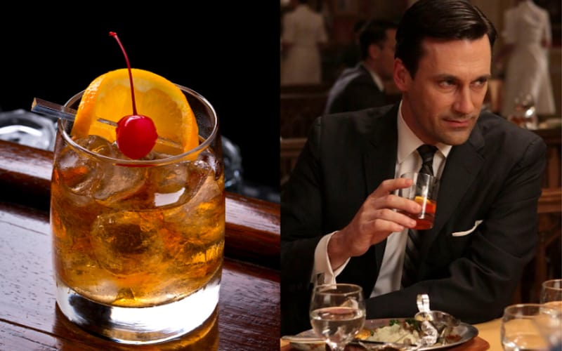Mad Men The Old Fashioned Cocktail