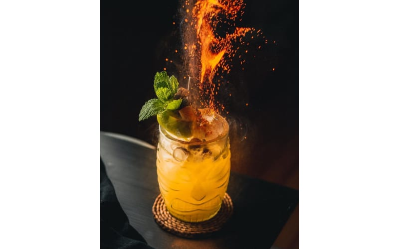 Mai Tai with Banana Liqueur