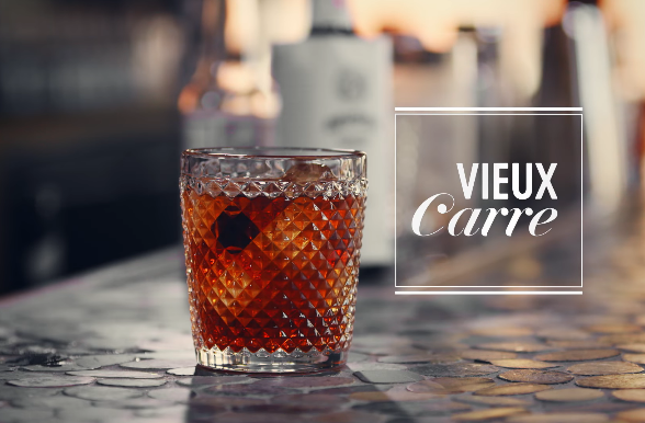 Take a Spin with the Vieux Carre Cocktail in the Big Easy
