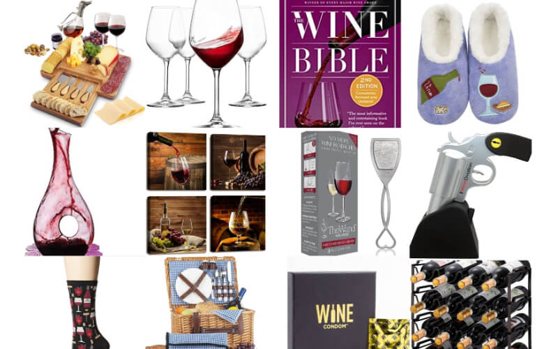 Various wine gifts to choose from