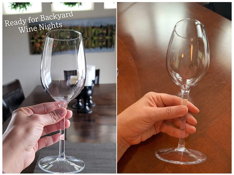 MICHLEY Unbreakable Wine Glasses (Set of 4) review