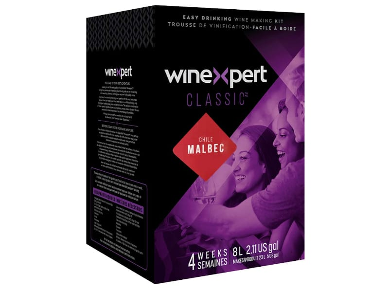 Midwest Homebrewing and wine making Supplies WineExpert Chilean Malbec