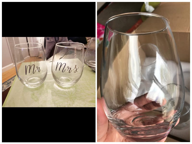 Modvera Stemless Wine Glasses review